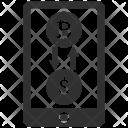 Mobile Coin Dollar Icon