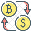 Coins Cryptocurrency Currency Icon