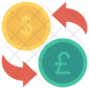 Currency Exchange Dollar Icon