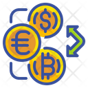 Exchange Currency Exchange Rate Icon