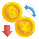 Exchange Currency Exchange Rate Financial Icon