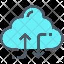 Exchange Data Cloud Icon