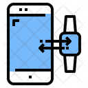 Exchange Data Device Connection Data Transfer Icon