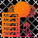 Exchange Data Storage Icon