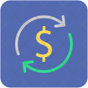 Convert Dollar Money Icon