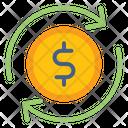 Exchange Euro Money Icon