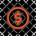 Exchange Dollar Exchange Euro Icon