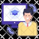 Exchange Education Icon