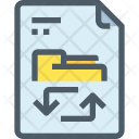 Exchange File Icon