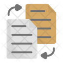 Exchange File Exchange File Icon