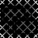Exchange Folder Data Icon