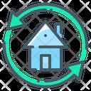 Arrows Exchange Home Icon