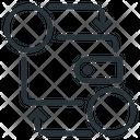 Cryptocurrency Exchange Exchange Integration Icon
