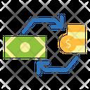 Exchange Medium Coins Money Icon