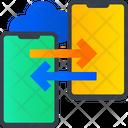 Exchange Mobile Data Data Sharing Exchange Icon