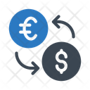 Exchange Transfer Currency Icon
