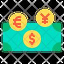Exchange Money Convert Money Cash Icon