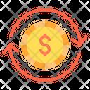 Money Exchange Exchange Money Convert Money Icon