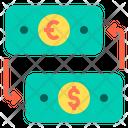 Exchange Money Exhcange Money Conversion Convert Money Icon