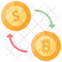Exchange Arrow Currency Icon