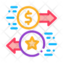 Money Exchange Bonuses Icon
