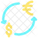 Business Finance Exchange Money Dollar Icon