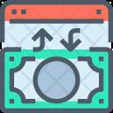 Money Exchange Website Icon