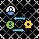Exchange Money Work Icon