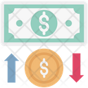 Money Change Money Exchange Open Market Icon