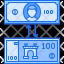 Exchange Money Banknote Icon