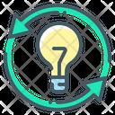 Exchange Of Ideas Share Ideas Idea Icon
