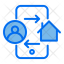 Exchange Owner People House Icon
