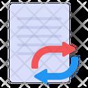 Exchange Paper Exchange Document Transfer Paper Icon