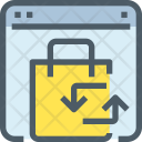 Exchange Parcel Package Icon