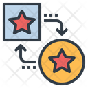 Exchange Point Convert Icon