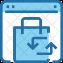 Exchange Product Shopping Icon