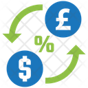 Exchange Rate Money Finance Icon