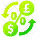 Exchange Rate Money Currency Icon