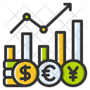 Exchange Rate Currency Money Icon