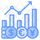 Exchange Rate Money Exchange Coin Icon
