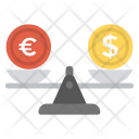 Exchange Rate Money Icon