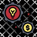 Idea Strategy Exchange Icon