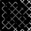 Exchange File Zip Icon