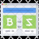 Exchanger Site Bitcoin Icon