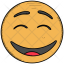 Excited Laughing Smiley Icon