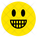 Excited Smiley Emotion Icon