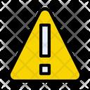 Exclamation Error Warning Icon