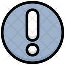 Business Financial Exclamation Icon