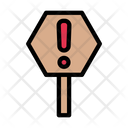 Exclamation Danger Warning Icon