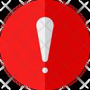 Exclamation Error Alert Icon
